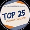 Abzeichen Top 25 Portrait